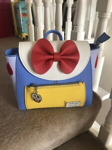 Loungefly Snow White Disney Mini Backpack NEW Very Rare