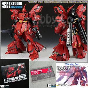 SH Studio Detail up Photo Etch Parts Set for MG 1/100 Sazabi ver ka Gundam Model