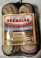 Franklin Sports Soft Strike Teeballs (6 Pack)