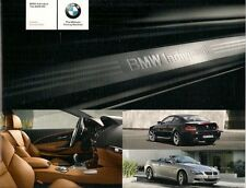 BMW M6 Individual Colour & Trim 2008 UK Brochure Coupe Convertible 6-Series