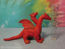 """Imperial? Made In China 6 """"Jigglier Winged Red Fire Dragon Soft Bead Filled"""