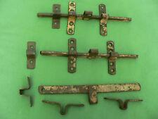 1 verrou original pouvant fermer avec un cadenas ancien fer 25,5 cm large