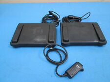 Lot of 2 Kinesis AC004PF Savant Programmable Foot Switch With A Nikon MC-30