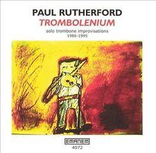 PAUL RUTHERFORD - TROMBOLENIUM USED - VERY GOOD CD