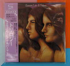 Emerson Lake & Palmer ,  Trilogy  (Papersleeve) (SHM-CD) (Reissue)