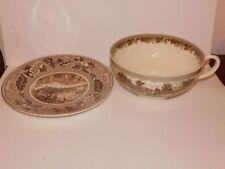 Brown Vintage Original Decorative Pottery