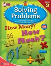 Master Math, Grade 3: Solving Problems (Brighter Child Workbooks) by
