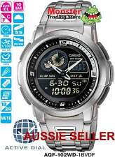 AUSSIE SELLER CASIO ACTIVE DIAL WORLD AQF102WD AQF-102WD-1B AQF102 AQF-102