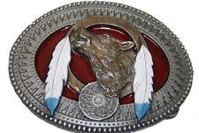 Adorno en la cintura Buckle F. cambio cinturón con licencia oficial Tanside Wolf resorte atrapa sueños