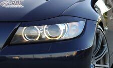 RDX Scheinwerferblenden schwarz matt für BMW E90 / E91