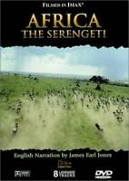 AFRICA-THE SERENGETI - DVD - GOOD