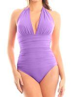 Magicsuit Women's Swimsuit Size 14 16 Claudia One Piece Lavender Pink