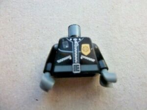 LEGO Police officer Torso with arms and hands-Police on back  (B)