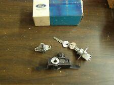 NOS OEM Ford 1973 1974 Galaxie 500 LTD Station Wagon Lock Set Glove Box Spare