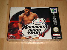 KNOCKOUT KINGS 2000 DE BACKBONE PARA LA NINTENDO 64 N64 NUEVO PRECINTADO