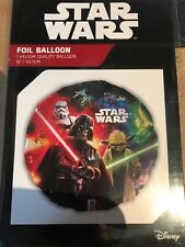 1x New Foil Helium Quality Balloon Star Wars Starwars