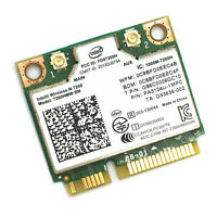 Intel Wireless-N 7260 7260HMW BN 802.11b/g/n WiFi+Bluetooth 4.0 Mini PCI-E Card
