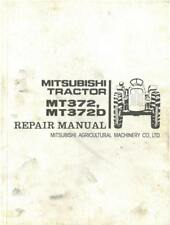 Mitsubishi Tractor MT372 & MT372D Workshop Service Manual