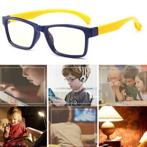 Glasses Cut Blue Light Blocking Filter Computer Eyewear Anti Glare For Children