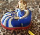 Vintage Plastic Wind-Up Bumper Car by Irwin Collectable Wind-Up Toy