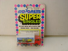 MAJORETTE SUPER SINGLES 1:100 SCALE SAVIEM CONTAINER TRUCK NEW ON CARD