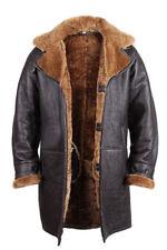 Autres manteaux marrons en cuir pour homme