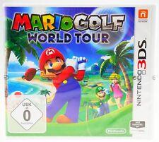 Mario Golf: World Tour - Nintendo 3DS eingeschweißt in Folie SEALED NEU