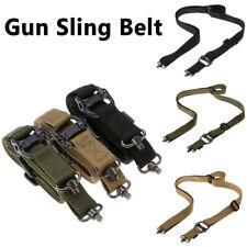 "Hunting Tactical Two Point Rifle Gun Sling Belt Strap QD Swivel 1.25"" Adjustable"