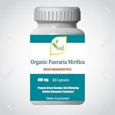 Breast Enlargement  Pills 400 mg | 60 Capsules, Natural and Organic Formula  3x