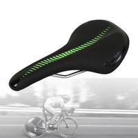 Velo Sport Hybrid Road Bicycle Microfiber Seat Steel Rail MTB Bike Gel Saddle