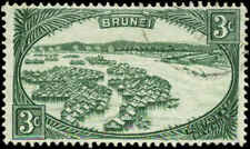 Brunei Scott #64 SG #81 Used