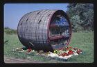 Photo: Heritage Wine Cellars barrel sign Route 20 North East Pennsylvania 1988 photo