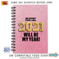 MY FOOD DIARY/DIET BOOK/TRACKER/12WKS/NOTEBOOK/WEIGHT LOSS/SLIMMING/RECIPE/AID