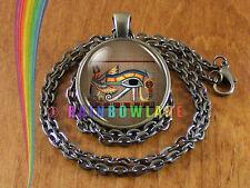 Eye of Horus Eye of Ra Egyptian Necklace Pendant Jewelry Charm Gift