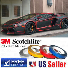 RED Reflective Body Stripe Vinyl Tape DIY Sticker Decal Self Adhesive 150 Feet