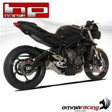 HPCORSE Pot D'Echappement HYDROFORM satin racing TRIUMPH STREET TRIPLE 765 2018>