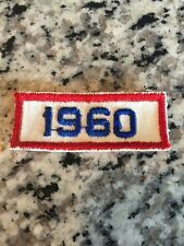1960 Vintage Year Patch