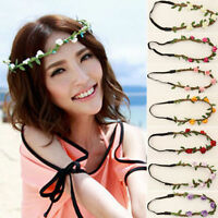 Women Girl's Boho Floral Flower Hairband Headband Festival Party Wedding Garland