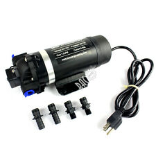 BACOENG 110VAC High Pressure 120PSI Diaphragm Pump RV Pump Misting/Spraying