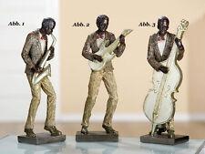 Gilde *Musikantentrio* 3er Set Jazz Band Musiker Bass Saxophon Gitarre 20511A