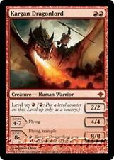 KARGAN DRAGONLORD Rise of the Eldrazi MTG Red Creature — Human Warrior MYTHIC