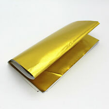 Gold Foil Insulating Heat Protection Sheild Wrap Reflective Adhesive 1m x 1.2m