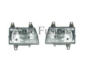 Headlights Pair For Ford Courier Pd 1996-1998