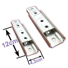 Concealed Headboard Panel Wall Fixing Brackets Set of two Free Delivery.