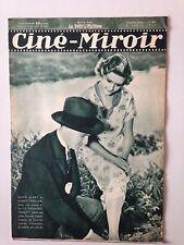CINE MIROIR N°470 6 AVRIL 1934 MARIE GLORY ET HUBERT PRELIER