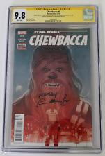 CGC Graded 9.8, Marvel Chewbacca No. 1 2015, Signed 2X, Mayhew, Suotamo, Remark!