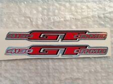 NOS BMX GT 4130 GT CR MO fork decals stickers red