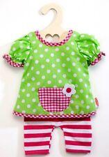 Heless Puppenkleidung - lustiges Hängerchen mit Leggins für 28 cm bis  33 cm