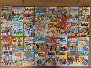 Lot of 10 Archie Comics Betty and Veronica/Jughead Jones/Digest & Double RANDOM