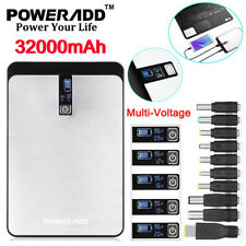 32000mAh Power Bank Dual USB Cell Phone Tablet Laptop Portable Battery Charger